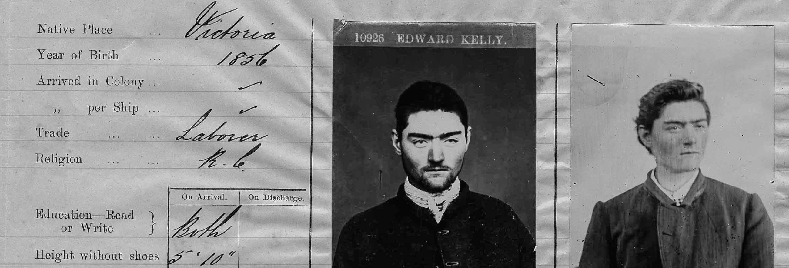 Ned Kelly black and white archive