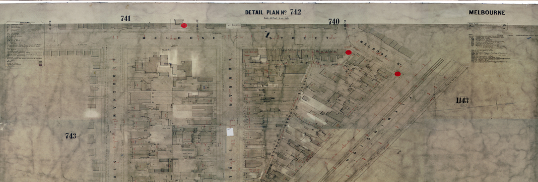 Melbourne Metropolitan Board of Works base plan