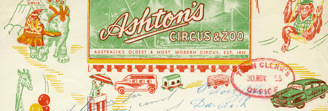Historic Zoo and Circus Letterhead