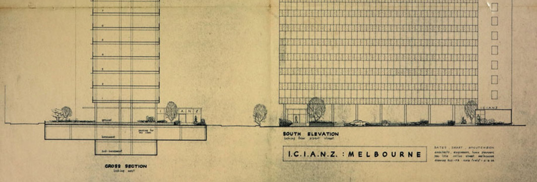 Plan of ICI House