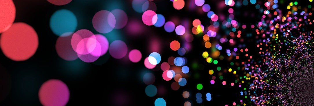 abstract coloured lights