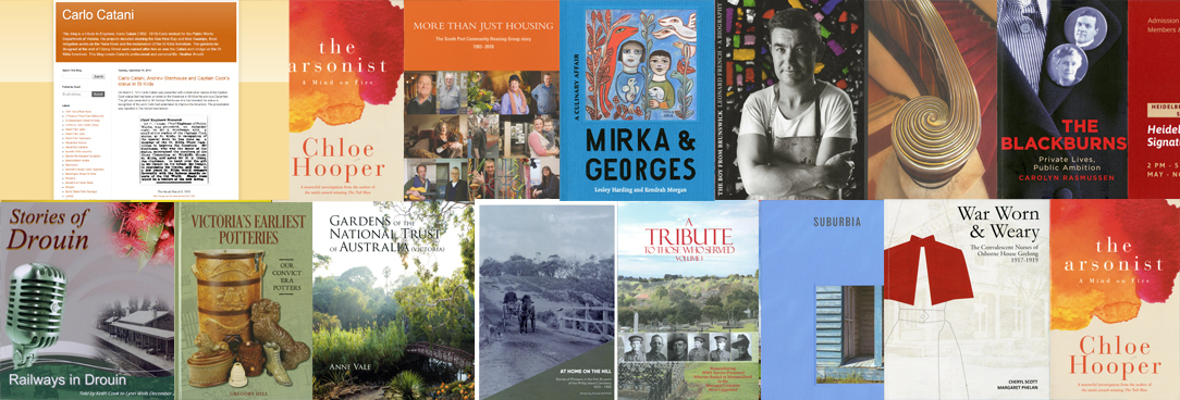 2019 Community History Award Nominees 2019
