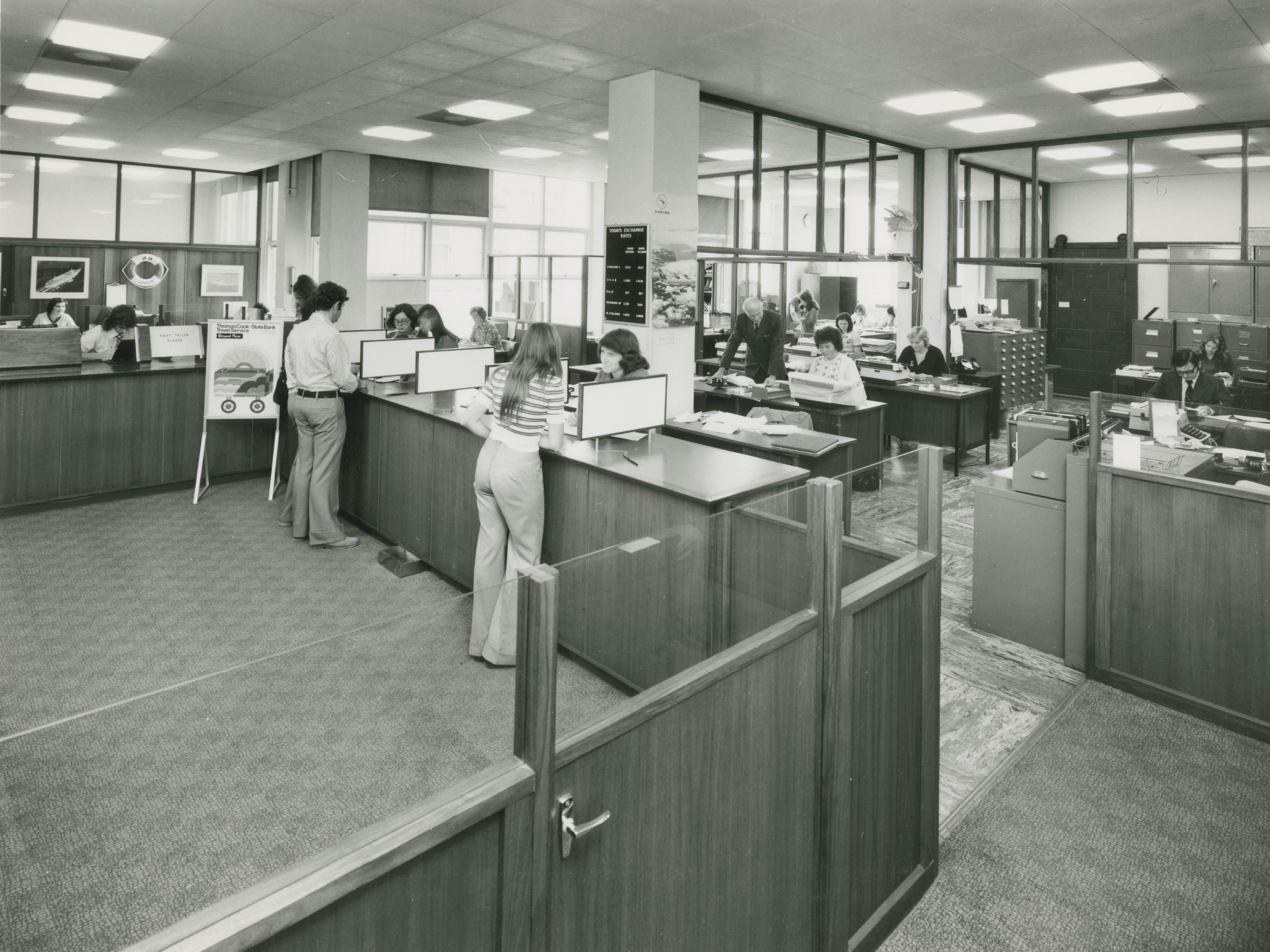 State Bank of Victoria Overseas Department