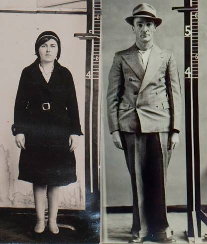 photo of a woman and man in their 20s