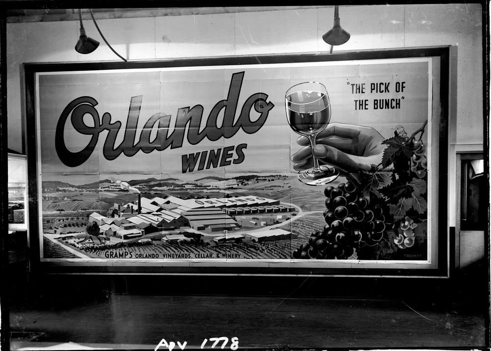 ad for orlando wines