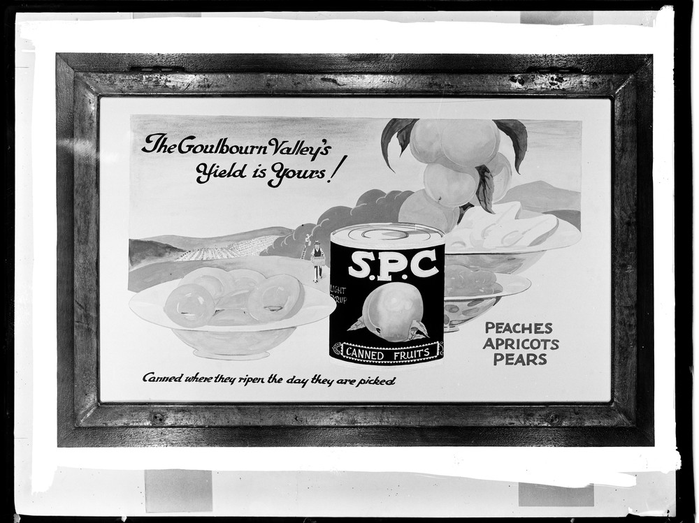 ad for spc canned fruits