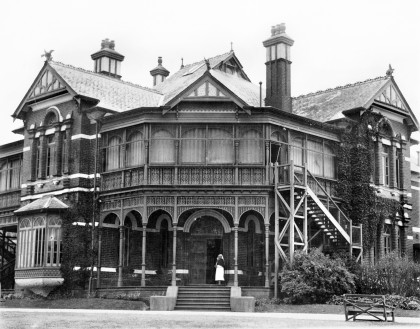 Bundoora Repatriation Mental Hospital circa 1924