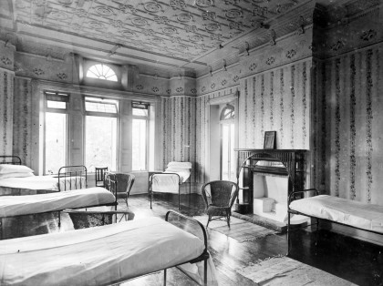 Upstairs Ward, Bundoora Convalescent Farm circa 1920