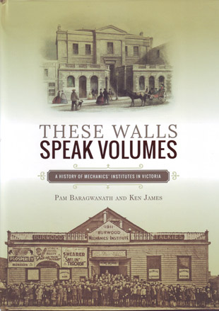 A photo of the book cover of These Walls Speak Volumes