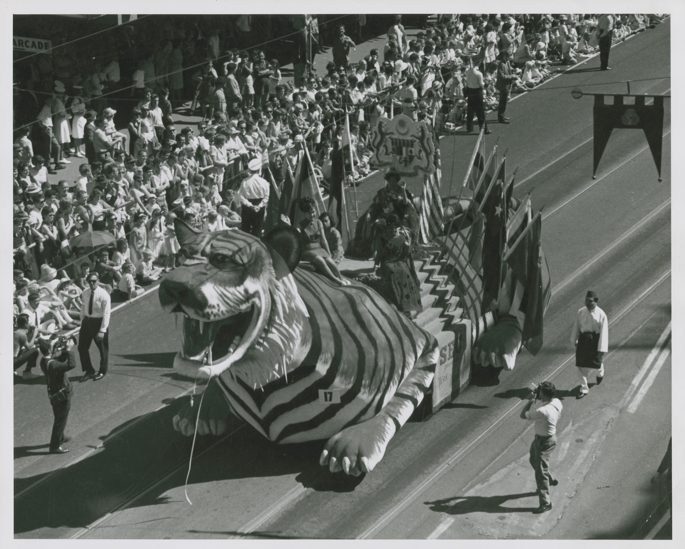 tiger float