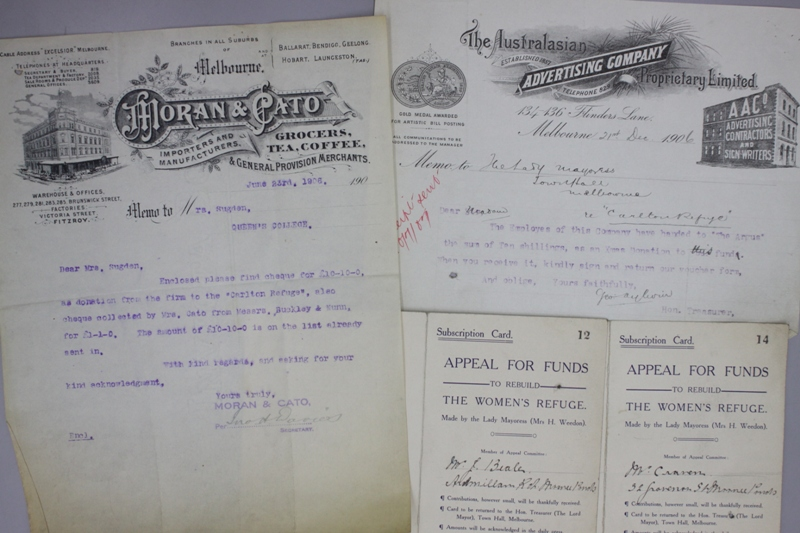 photo of a variety of documents
