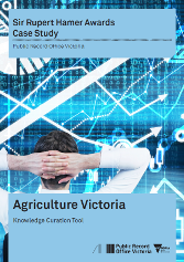 Agriculture Victoria Case Study Cover