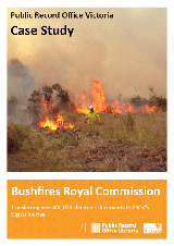 Bushfires Royal Commission Case Study Cover