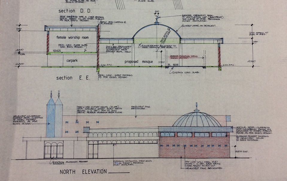 coburg mosque plans