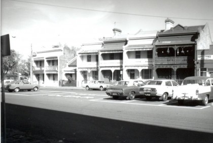 South-west side of Hawke Street between Ireland and Adderley streets, circa 1977