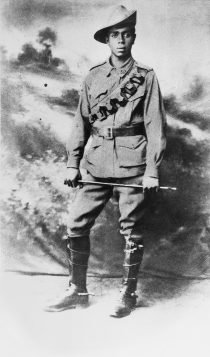 Private Walter Christopher (Chris) Saunders, son of Eliza Saunders
