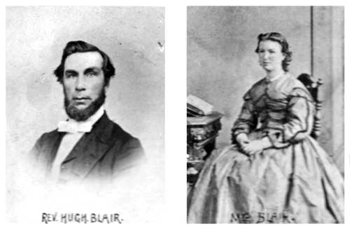Hugh Blair and wife