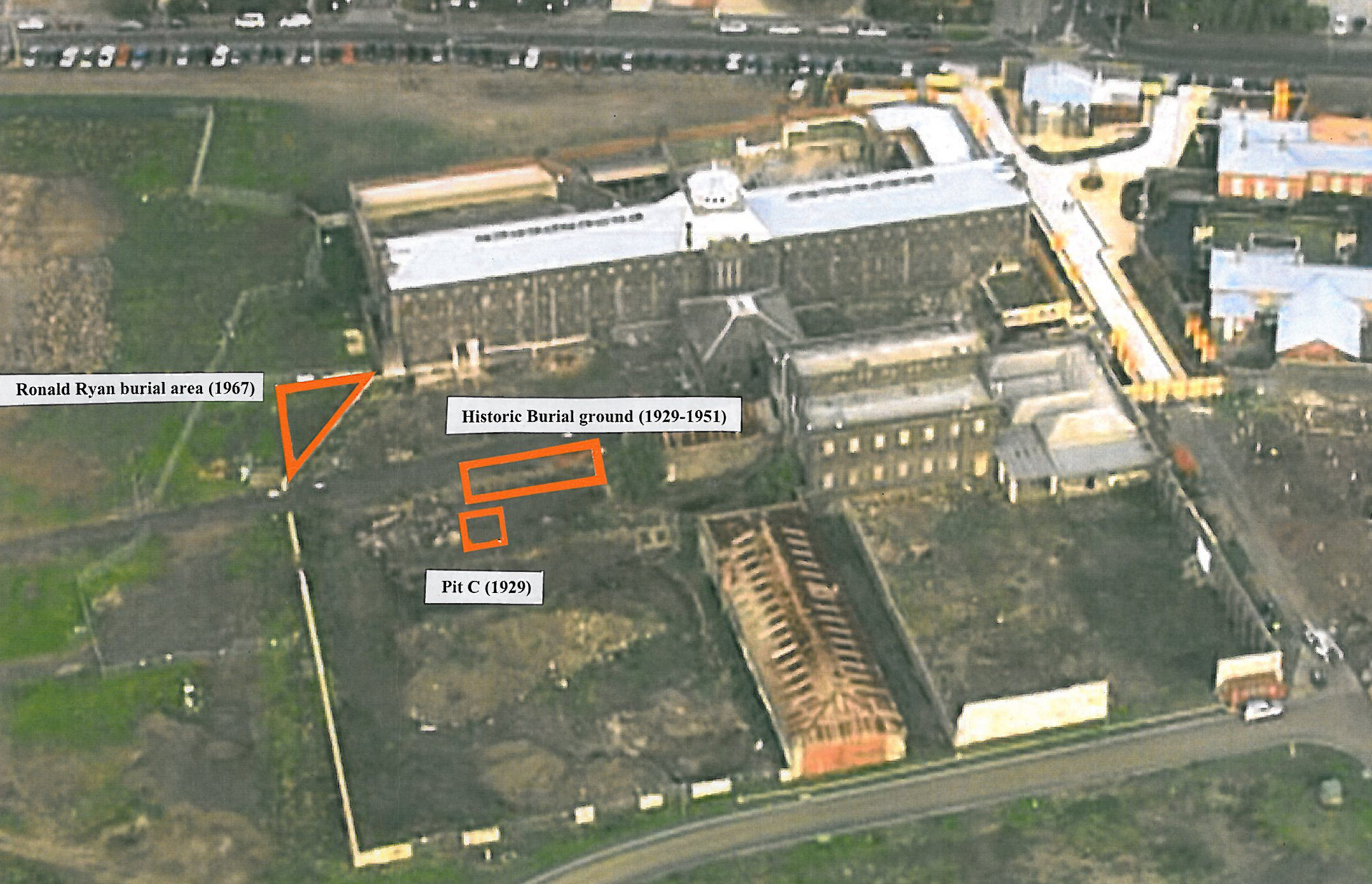 outside map of prison