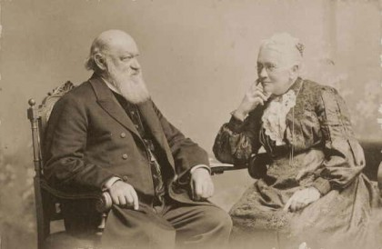 [Rev. Friedrich and Mrs Hagenauer] [picture] a15496. Tom Humphrey [ca. 1908]. Courtesy of State Library of Victoria.