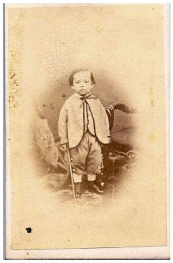 Arthur Kong Meng, c. 1863. Thomas Bradley Harris photo album, on website The Eastern window, p. 27 (accessed 12 March 2012).
