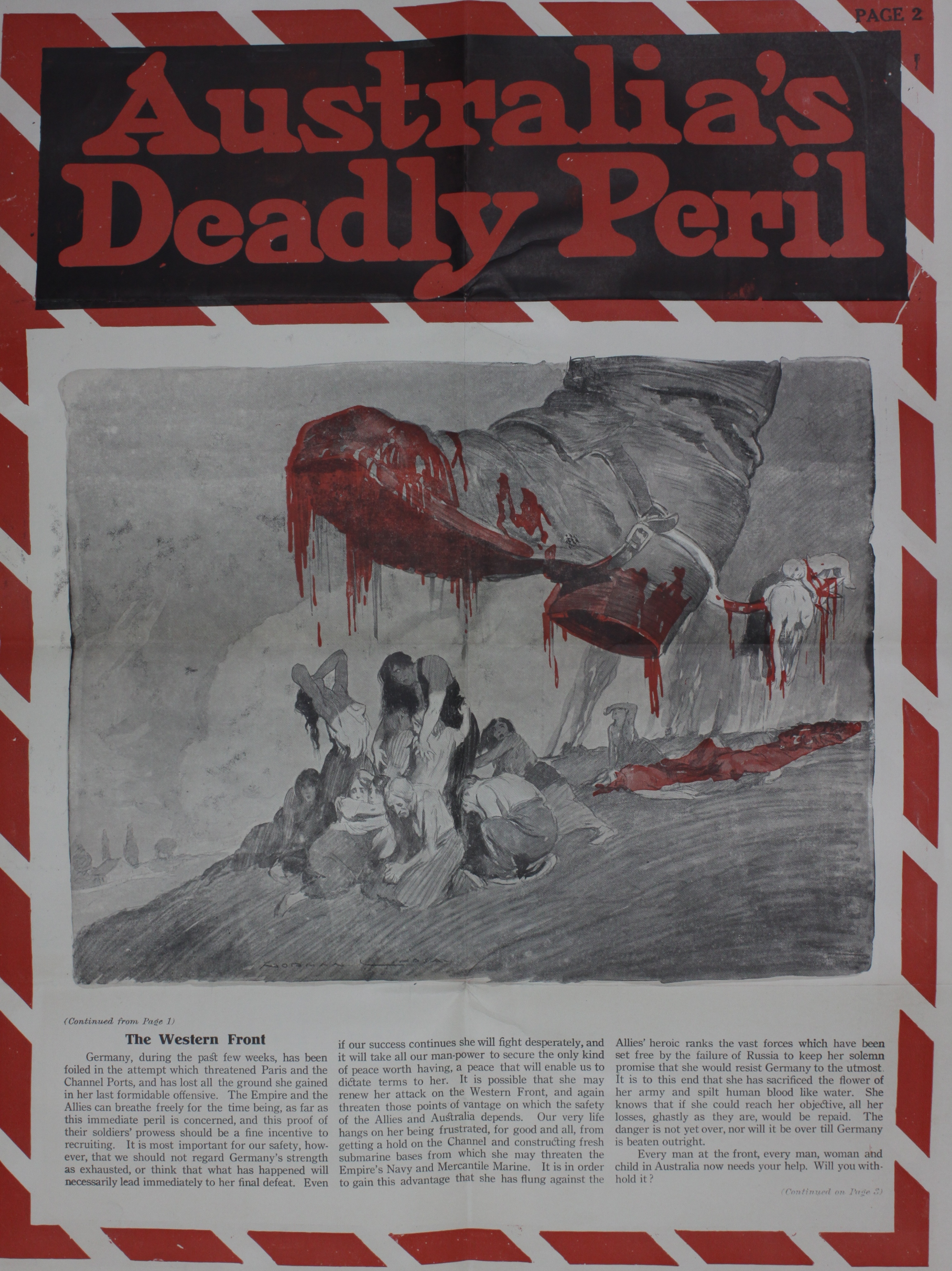 poster of bloody boot