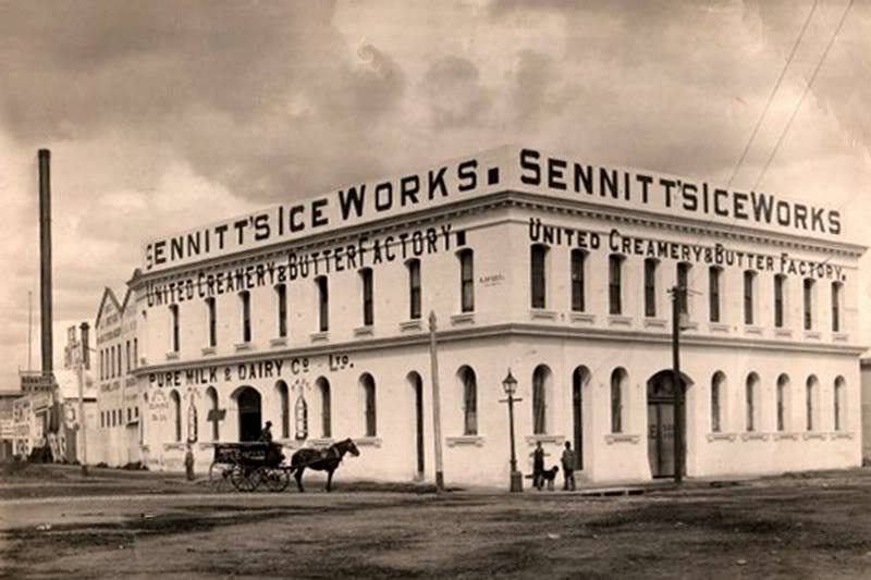 Photo of sennit ice works building