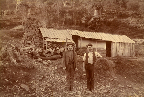 Two unidentified miners