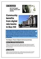 Box Hill Case Study Cover