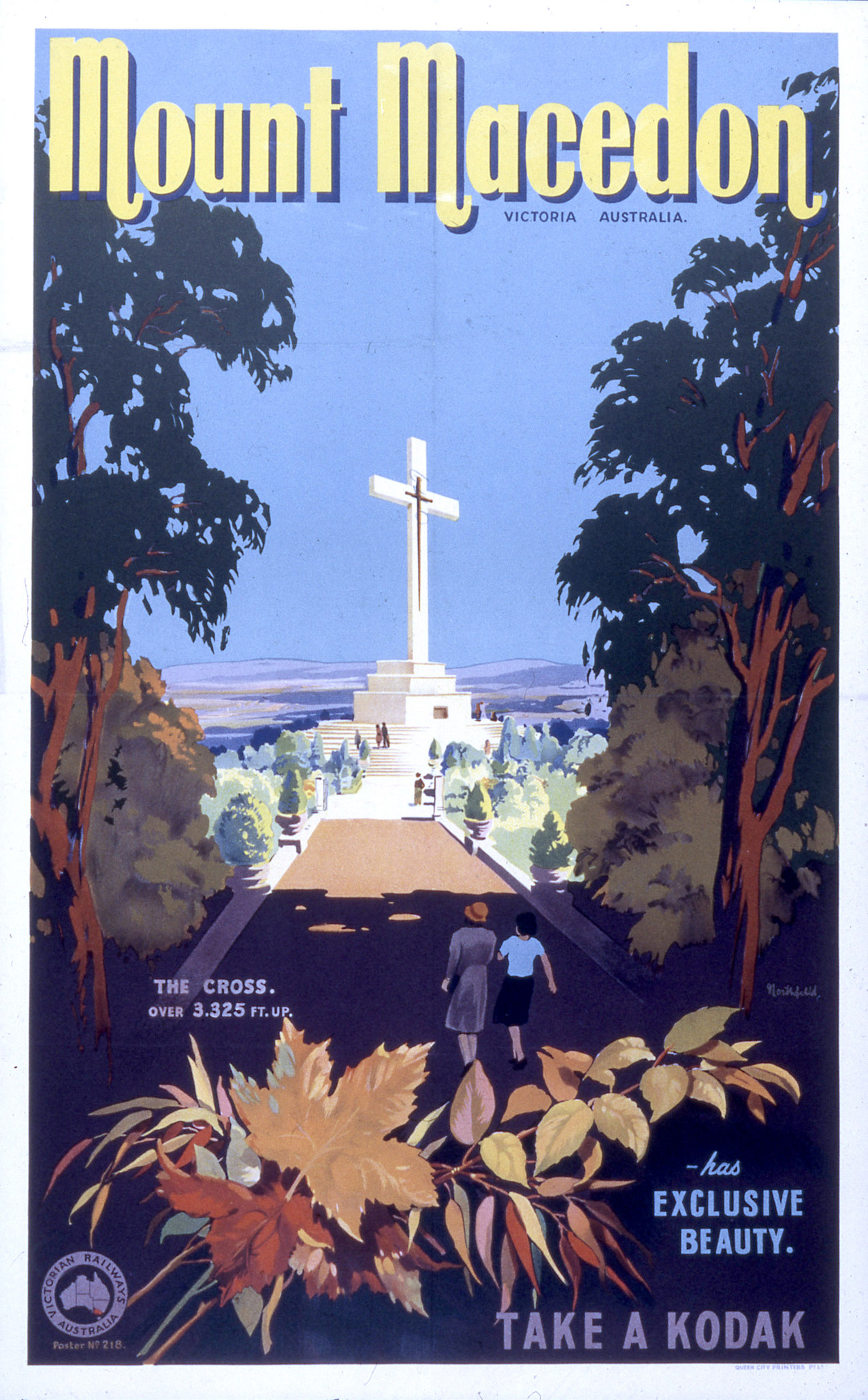 Mount Macedon poster by James Northfield