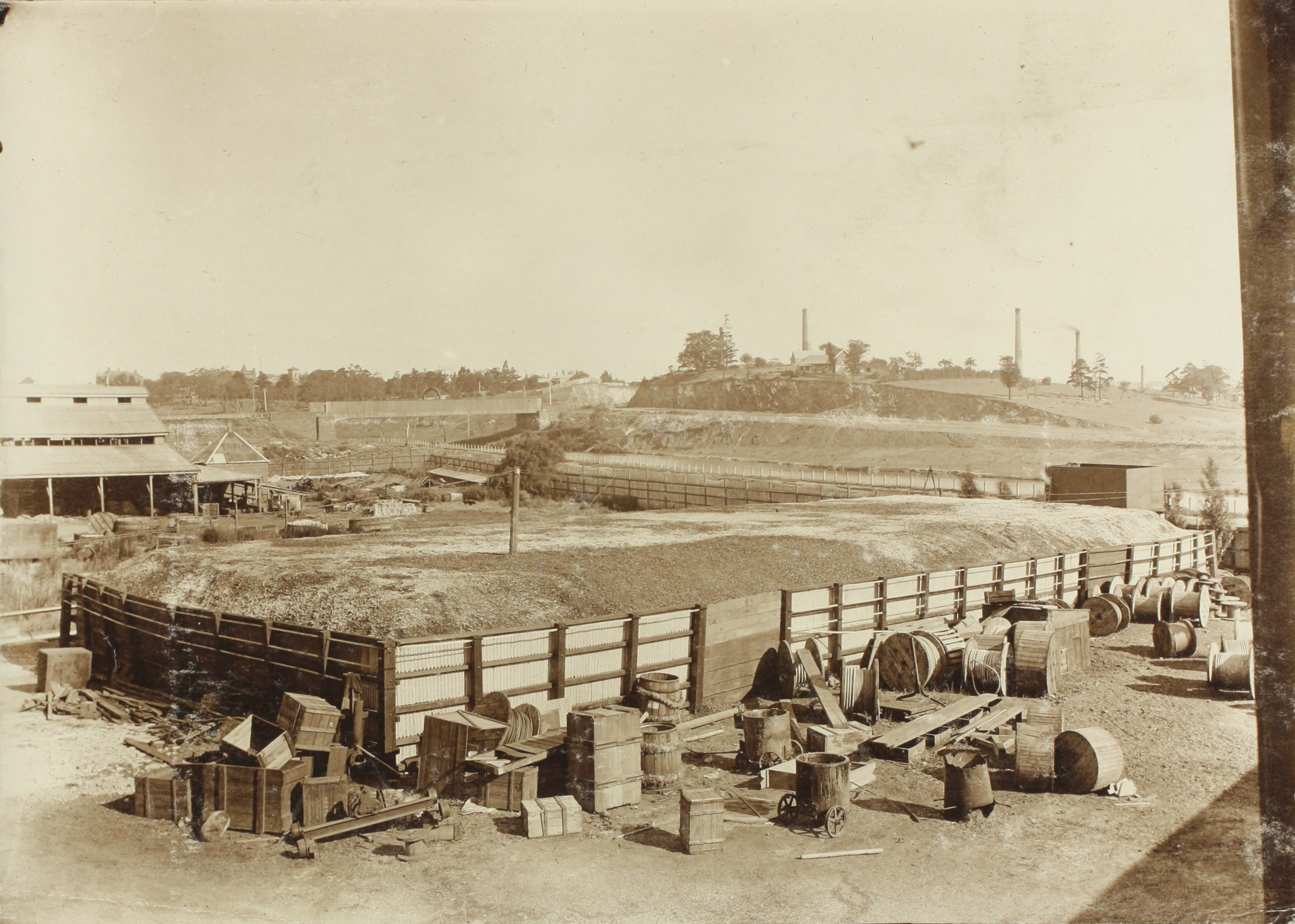 photo of tannery and fellmongers yard