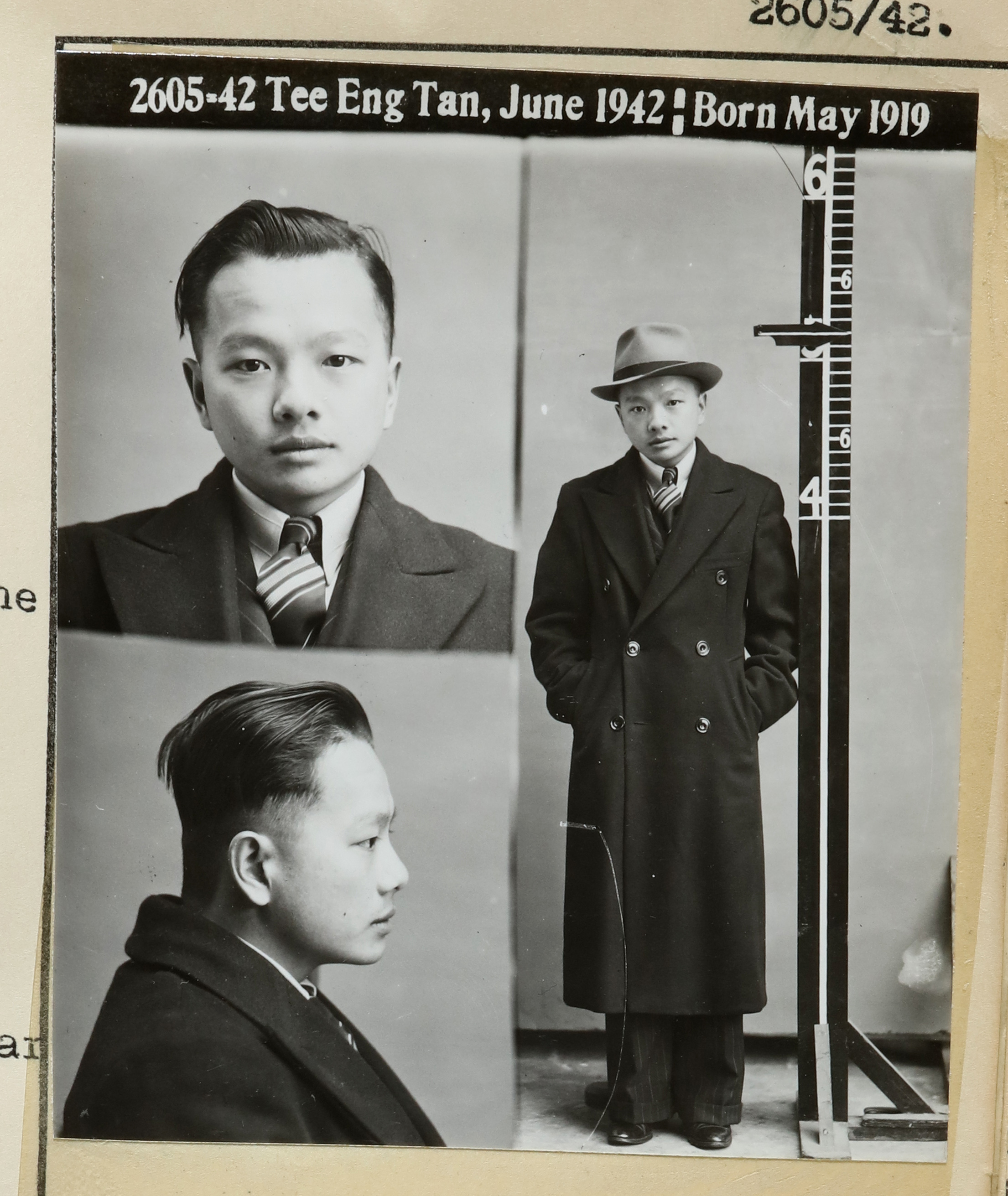 Tee Eng Tan June 1942