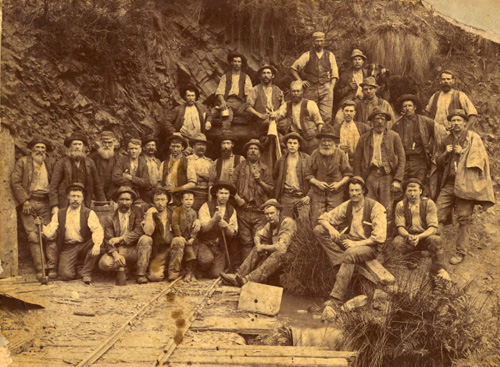 unidentified miners