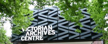 Exterior of Victorian Archives Centre
