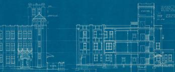 Schematic plans for a building
