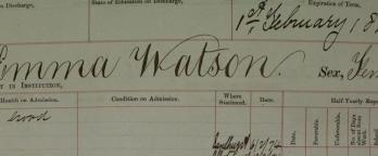 Document relating to Emma Watson