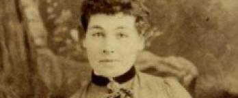 Photo of Australian Suffragette Mary Morrison