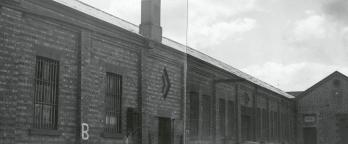 A photo of B Division building of Pentridge