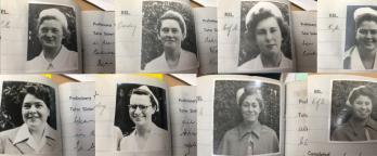 photos of nurses from the training books