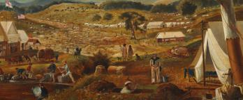 gold diggings painting