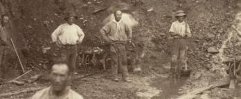 Chinese Goldminers in Victoria