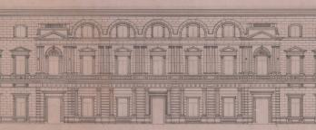 drawing of old treasury building