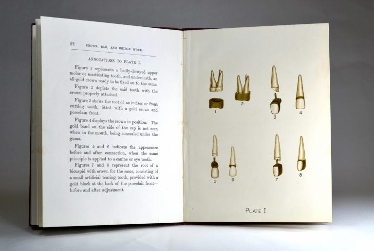 Dental Booklet by Percy Mole from 1893