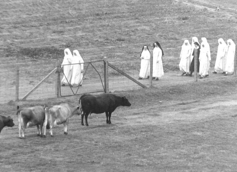Historical photograph of the Sisters of the Good Shepherd