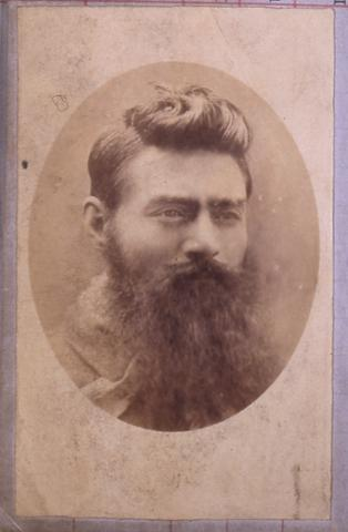 image of Ned Kelly from Kelly Historical Collection - Part 2 Crown Law Department