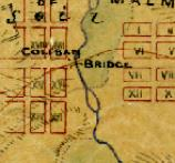 Detail of a goldfields map